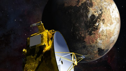 NASA Spacecraft Sends New Image of Pluto