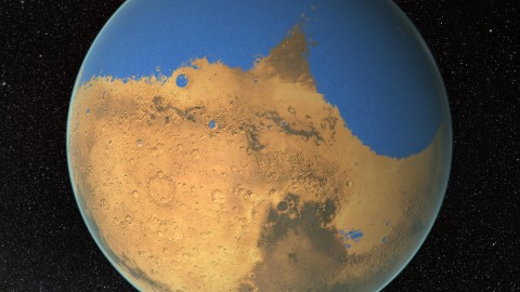 Mars Once Had More Water than Earth's Arctic Ocean