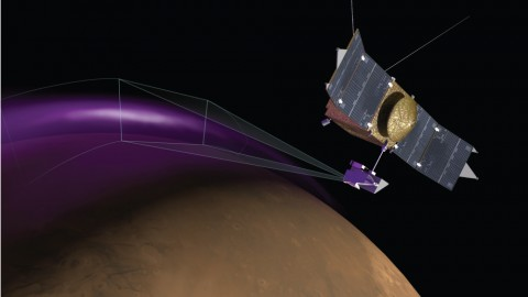 MAVEN Spacecraft Spots Aurora in Mars Atmosphere, Mysterious Dust Cloud