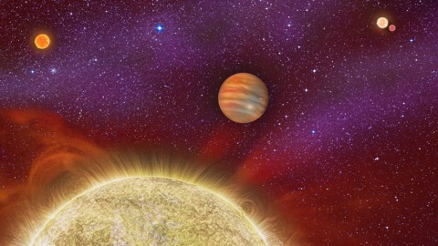 Astronomers Discover Planets with Multiple Star Systems
