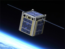 Cubesats, also known as nanosatellites, helps control costs of space exploration. (Courtesy: NASA)