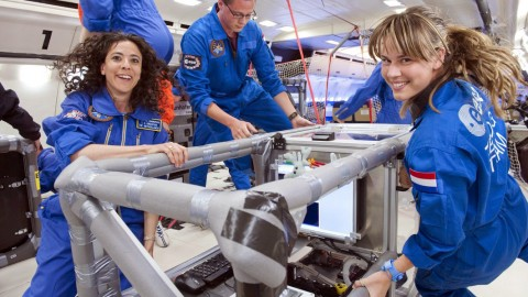 ESA Sends Space Students into Microgravity