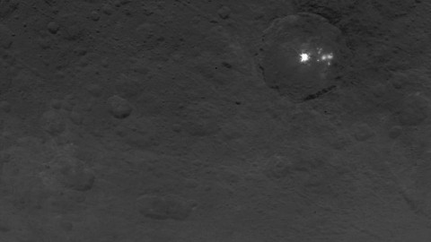 Getting Closer to Those White Spots on Ceres?