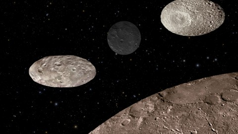 Pluto Moons Tumble Chaotically