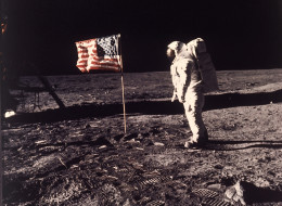 Was this a hoax? (AP Photo/NASA/Neil A. Armstrong)